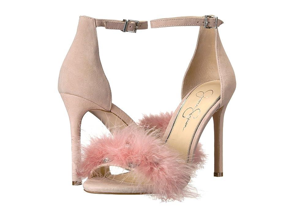 Jessica Simpson Jolinda (Mauve/Lux Feathers) Women