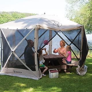 Gazelle G6 8 Person Canopy Gazebo Screen Tent & Wind Panel Accessory (6 Pack)