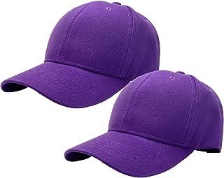 Falari 2pcs Baseball Cap for Men Women Adjustable Size Perfect for Outdoor Activities