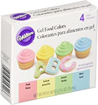 Wilton Gel Food Color Set 0.3 Ounces Primary