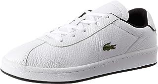 Lacoste Masters 120 2 SMA Men's Sneakers, White/Black