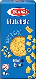 Barilla Glutensiz Boncuk Makarna (Ditalini Rigati) 400 G