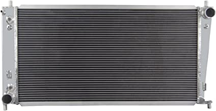 Primecooling 62MM 4 Row Core Aluminum Radiator for Ford F-150 F-250 F-350 Super Duty &Lincoln Models 4.2L / 4.6L/ 5.4L 1997-2004