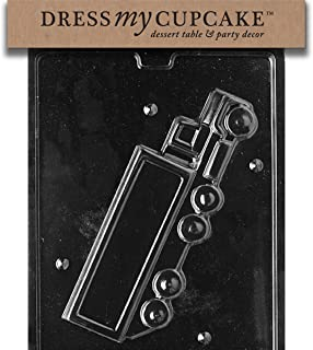 Dress My Cupcake DMCD084A Chocolate Candy Mold, 3D Tractor Trailer-Side 1