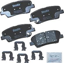 Bendix Premium Copper Free CFC1439 Premium Copper Free Ceramic Brake Pad (with Installation Hardware Rear)