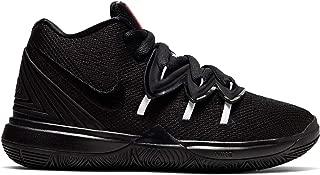 Kids' Preschool Kyrie 5 Basketball Shoes (3, Black/Red)