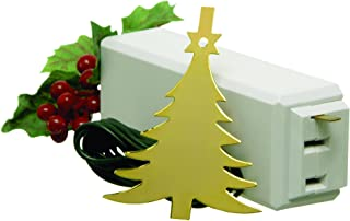Xodus Innovations 1225L Tree On/Off Touch Control Ornament For Christmas Tree Lights, Brass