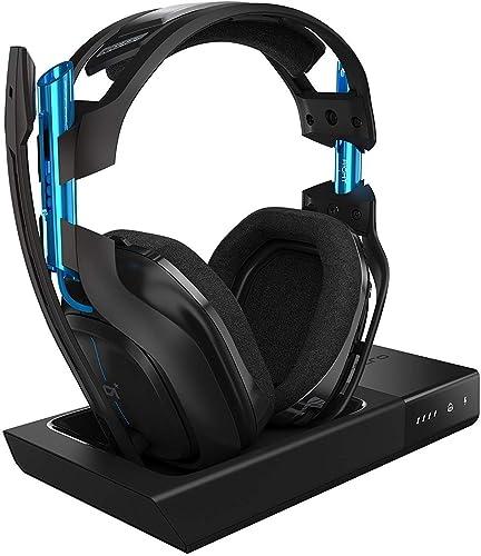 ASTRO Gaming, casque sans fil A50 + station d'accueil 3e Génération avec son surround Dolby 7.1 - Compatible Playstat...