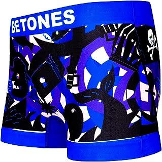 BETONES (ビトーンズ) メンズ ボクサーパンツ PIRATE dwearsステッカー入り ローライズ アンダーウェア 無地 ブランド 男性 下着 誕生日 プレゼント