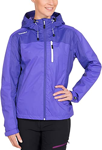 Twentyfour Elbrus pour Femme légère et Fonctionnel Veste imperméable pour Les Loisirs et la randonnée