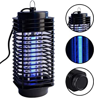 Noa Store Electronic Zapper Insect Killer Electric Mosquito Fly Bug Insect Zapper Killer Control with Trap Lamp 110V - Brush Included