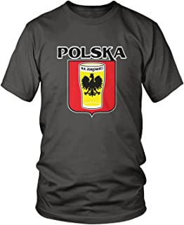Amdesco Men's Polska Na Zdrowie, Poland Cheers, Beer Pint T-Shirt