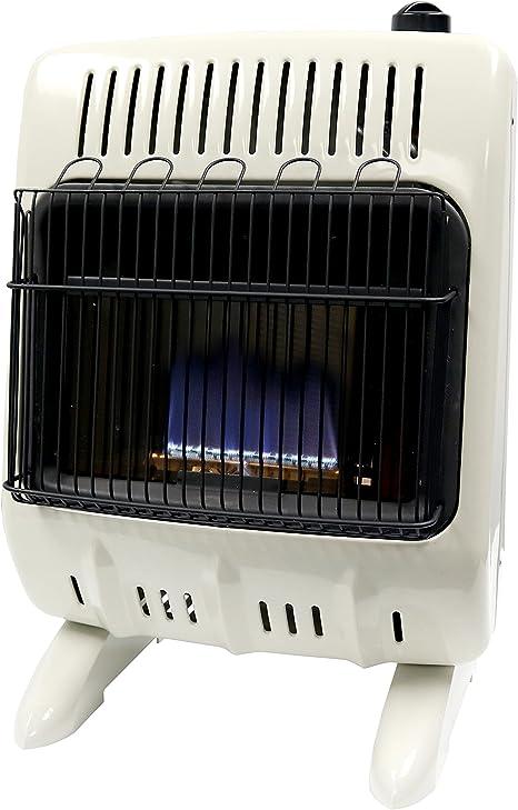 Mr. Heater F299711 Corporation Vent-Free 10,000 BTU Blue Flame Natural Gas Heater, Multi: image