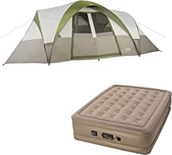 Wenzel Mammoth 16-Person Family Dome Camping Tent w/Insta-Bed Queen with Pump