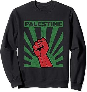 Free Palestine Shirt | Propaganda-Style Palestine Fist Sweatshirt