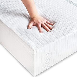 BedStory Matelas Latex 90x190x18cm, Latex Améliore Sommeil et Antiacarien, Matelas Une Personne Mousse, Multiple Couches I...