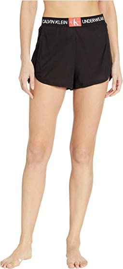 Monogram Mesh Sleep Shorts