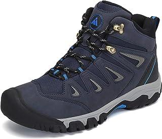 أحذية المشي لمسافات طويلة للرجال والنساء رياضية في الهواء الطلق مضادة للتضادم تنفس عدم الانزلاق الكاحل المشي الرحلات.