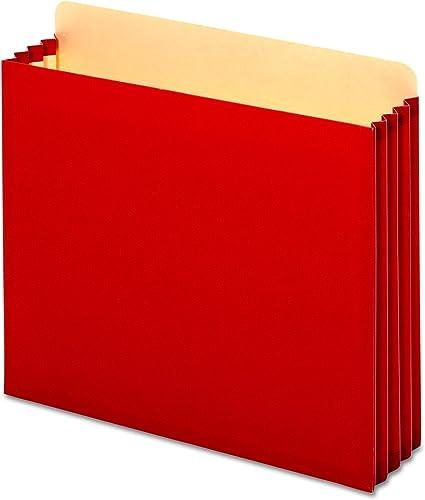 distribución global 3 3 3 1 2 Inch Expansion File Pockets, Straight, Letter, rojo, 10 Box, Sold as 1 Box  Venta al por mayor barato y de alta calidad.