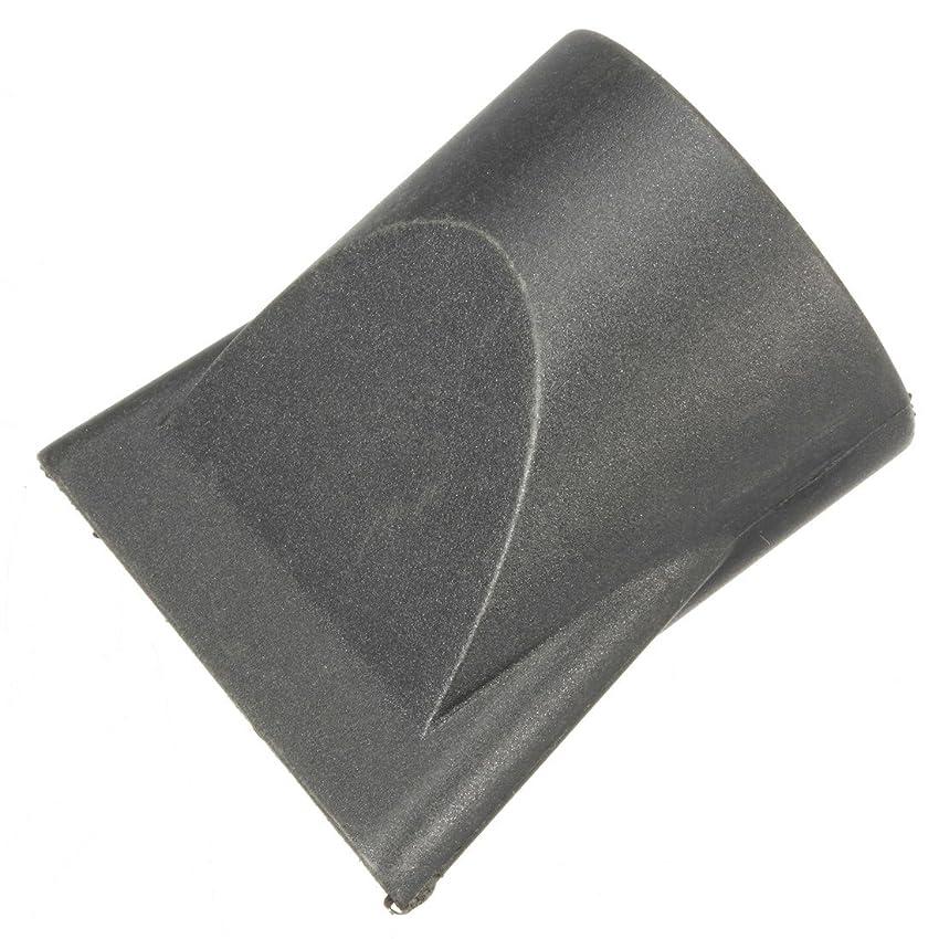 ソーダ水公爵精神医学Jicorzo - 1PCSプラスチックサロン交換フェラフラットヘアドライヤー乾燥コンセントレータブラックノズルスタイリングツールのフードカバーワイド狭いサイズ[狭いです]