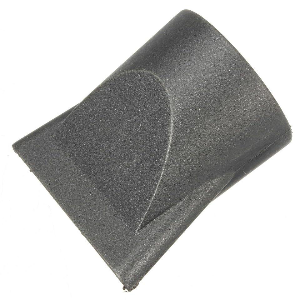 語割り当てます意味するJicorzo - 1PCSプラスチックサロン交換フェラフラットヘアドライヤー乾燥コンセントレータブラックノズルスタイリングツールのフードカバーワイド狭いサイズ[狭いです]