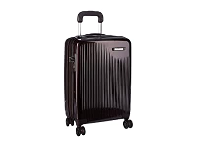 Briggs & Riley Sympatico International Carry-On Expandable Spinner (Plum) Luggage