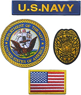 us navy military police badge