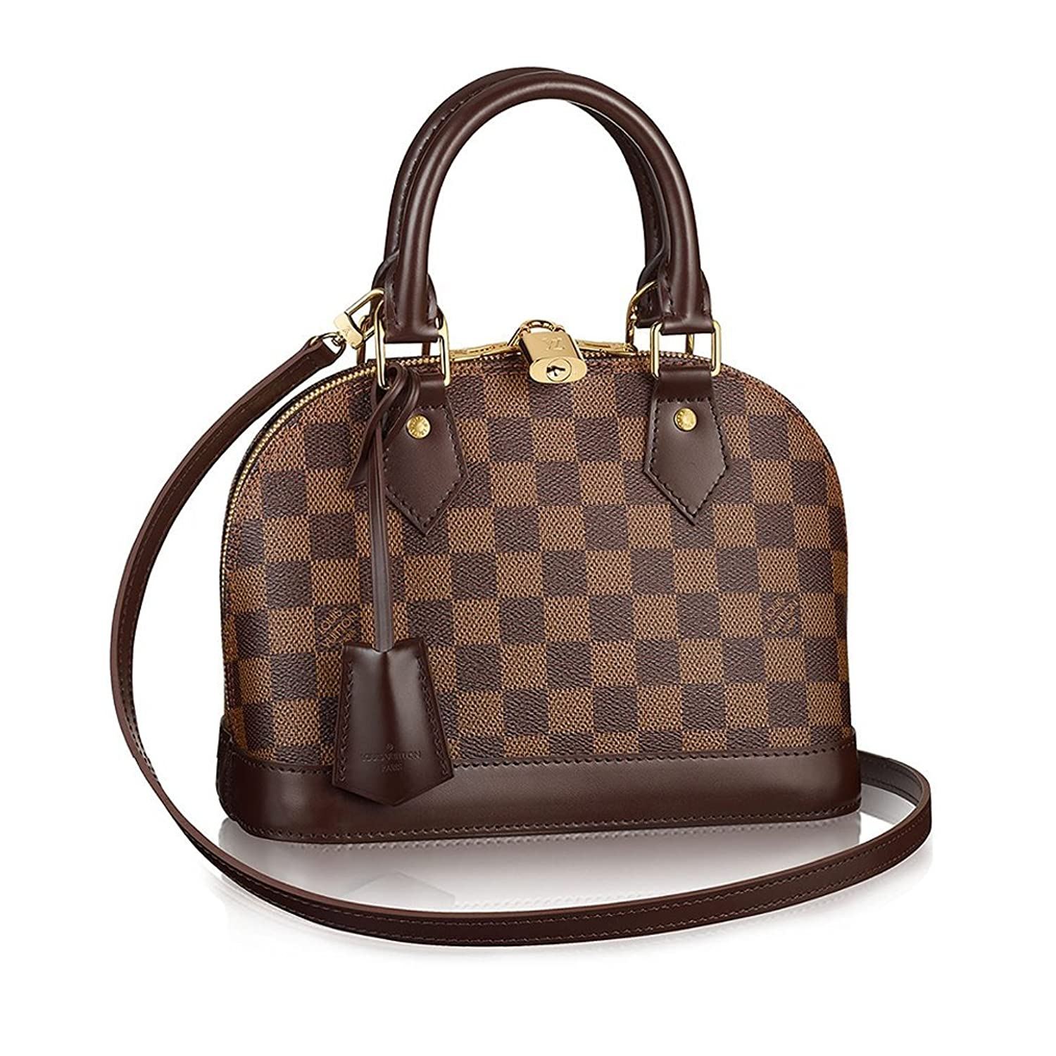 Authentic Louis Vuitton DamierアルマBBクロスボディハンドバッグArticle : n41221?Made in France