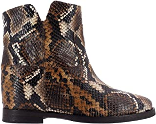 VIA ROMA 15 Luxury Fashion Womens 1626BROWN Brown Ankle Boots | Fall Winter 19