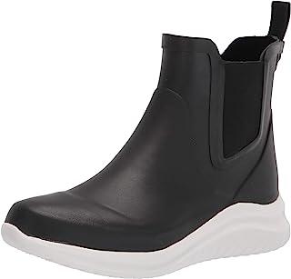 Chooka Women's Waterproof Bellevue Rain Chelsea with Hybrid Sport Outsole Boot