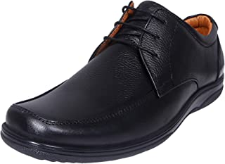 Zoom Men Pure Leather Semi Formal Shoes D-1471