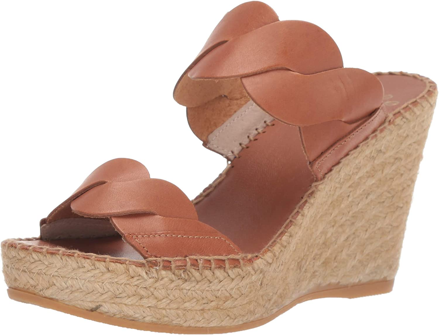 André Assous Women's Max 76% OFF Rumy Sandal Houston Mall Espadrille Wedge