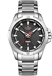 NAVIFORCE FOR MEN KAGUAL nF9161 ANALOG ROUND
