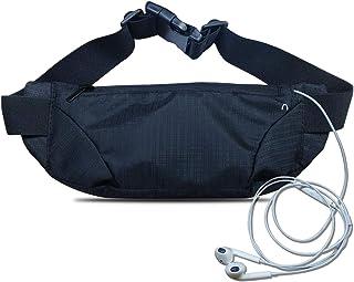 Waterproof Running Belt Waist Pack,Sport Fanny Pack Running Pouch for Men Women,Runners Belt Bag Phone Holder for iPhone 1...