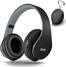 Bluetooth Headphones Over-Ear, Zihnic Foldable Wireless and Wired Stereo Headset Micro..