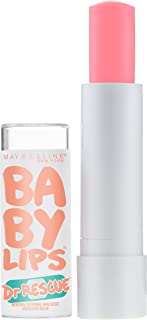 Maybelline New York Dr. Rescue Baby Lips Medicated Lip Balm Makeup, Coral Crave, 0.15 oz