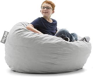 Big Joe 30658 Lenox Shredded Foam Bean Bag, Kid's, Fog