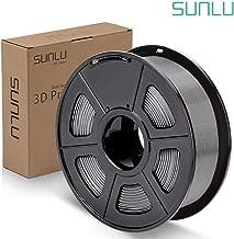 SUNLU PLA Plus Filament 1.75mm 3D Printer 3D Pens 1KG PLA+ Filament +/- 0.02 mm, Grey