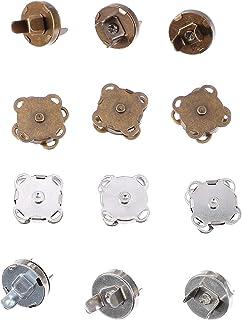 VICASKY 12 peças de fecho magnético de botão de 14 mm Fechos de costura magnética, botões de pressão para costura, artesan...
