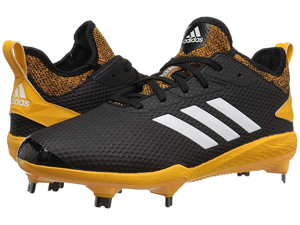 adidas Adizero Afterburner V (Black/Cloud White/Collegiate Gold) Men