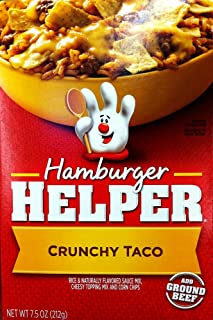 Betty Crocker CRUNCHY TACO Hamburger Helper 7.5oz (5 Pack)
