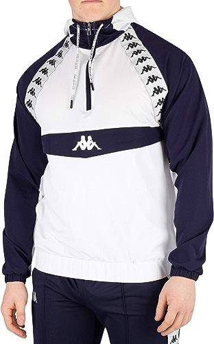 Kappa Homme Bakit Authentic veste, Blanc