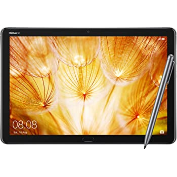 """Huawei MediaPad M5 Lite Tablet with 10.1"""" FHD Display, Octa Core, Quick Charge, Quad Harman Kardon-Tuned Speakers, WiFi Only, 3GB+32GB, M-Pen Lite Stylus Included, Space Gray (US Warranty)"""