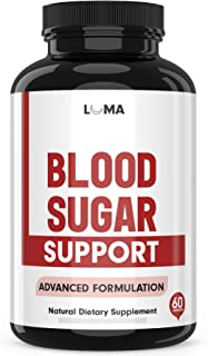 Natural Blood Sugar Support Supplements - Blood Sugar Stabilizer - Blood Sugar Control Blood Sugar Control with Alpha Lipoic Acid & Cinnamon