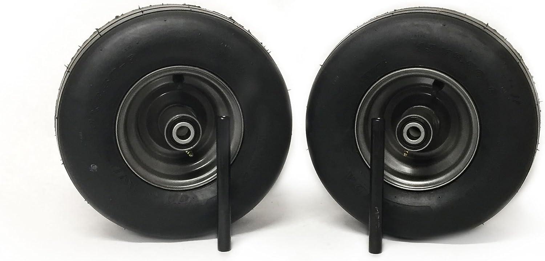 MowerPartsGroup (2) Gravely Pneumatic Wheel Assemblies 13x6.50-6