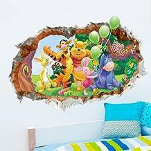 Stickers Muraux Winnie LOurson Personnalis/é Nom De Gar/çon Art Pour La D/écoration De La Chambre Des Enfants P/épini/ère Chambre D/écor
