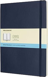 モレスキン ノート クラシック ノートブック ソフトカバードット方眼 XLサイズ サファイアブルー QP624B20