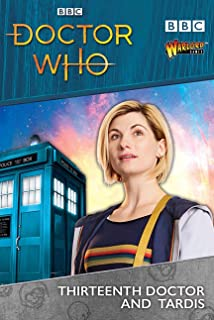 Doctor Who Thirteenth Doctor & Tardis Figures Set for Exterminate! The Miniatures Game