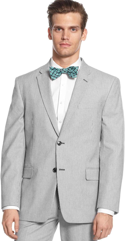 Tommy Hilfiger Men's Polk Black Pin Cord Cotton Sport Coat