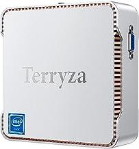 Mini PC Windows 10 Pro, Mini Desktop Computer Intel Celeron N3350 8GB DDR3 128GB SSD 4K, HDMI x2, Dual Band WiFi, Gigabit ...